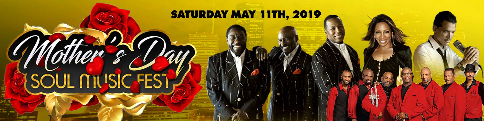 Mother's Day Soul Music Fest Feat  The O'Jays, Stephanie Mills, and